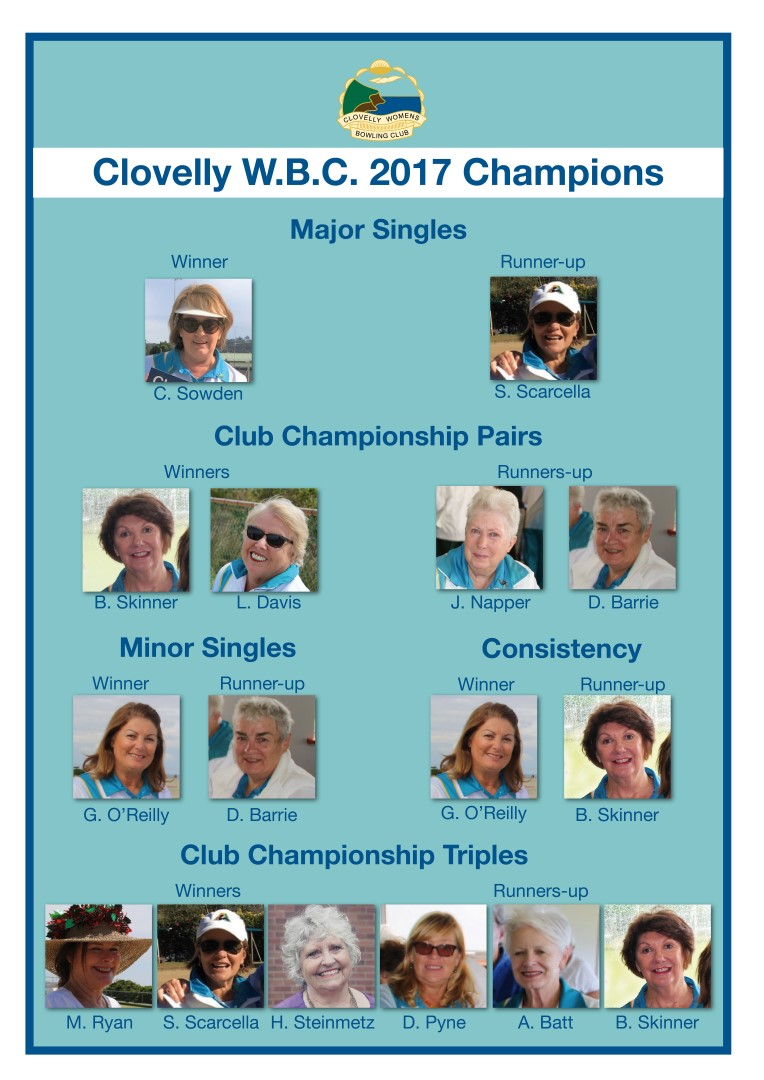 2017 Club Championships Results (Large)